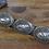 Thumbnail: Vintage Sterling Silver Concho Belt