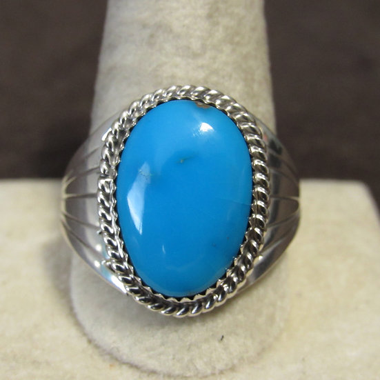 Sterling Silver and Turquoise Southwest Ring Size 12.5