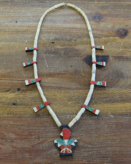 Vintage Collectible Thunderbird Beaded Necklace