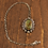 Thumbnail: Sterling Silver and Green Turquoise Pin/Pendant by Lonnie Willie