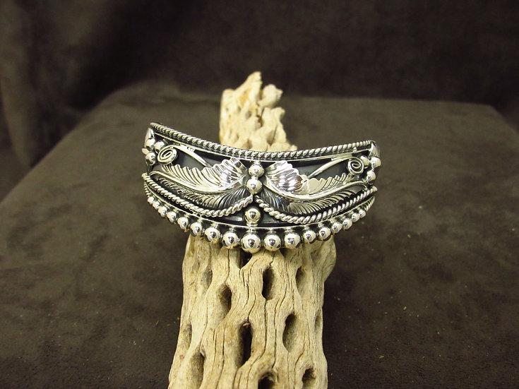 Sterling Silver Southwestern Cuff Bracelet