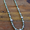 Thumbnail: Navajo Sterling Silver Green Turquoise Necklace