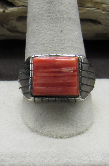 Handsome Spiny Oyster Ring Size 12