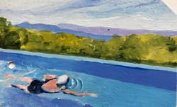 Diana Swimming