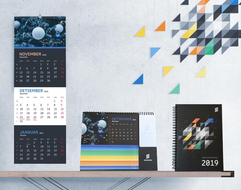 3 calendars