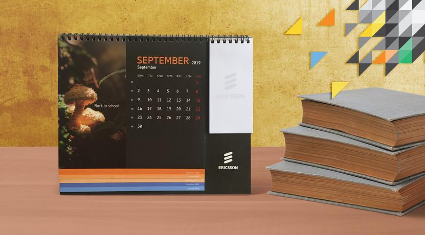 Ericsson calendar 2019