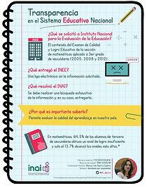 3. Transparencia en el sistema Educativo
