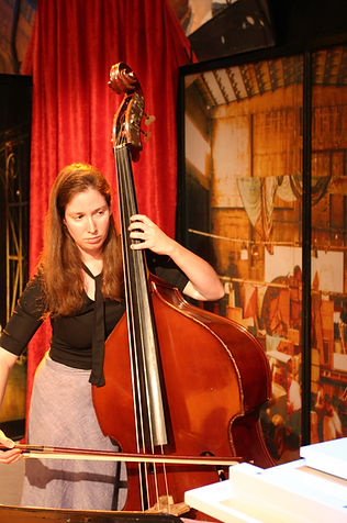 Double bassist Ora Boasson- Horev