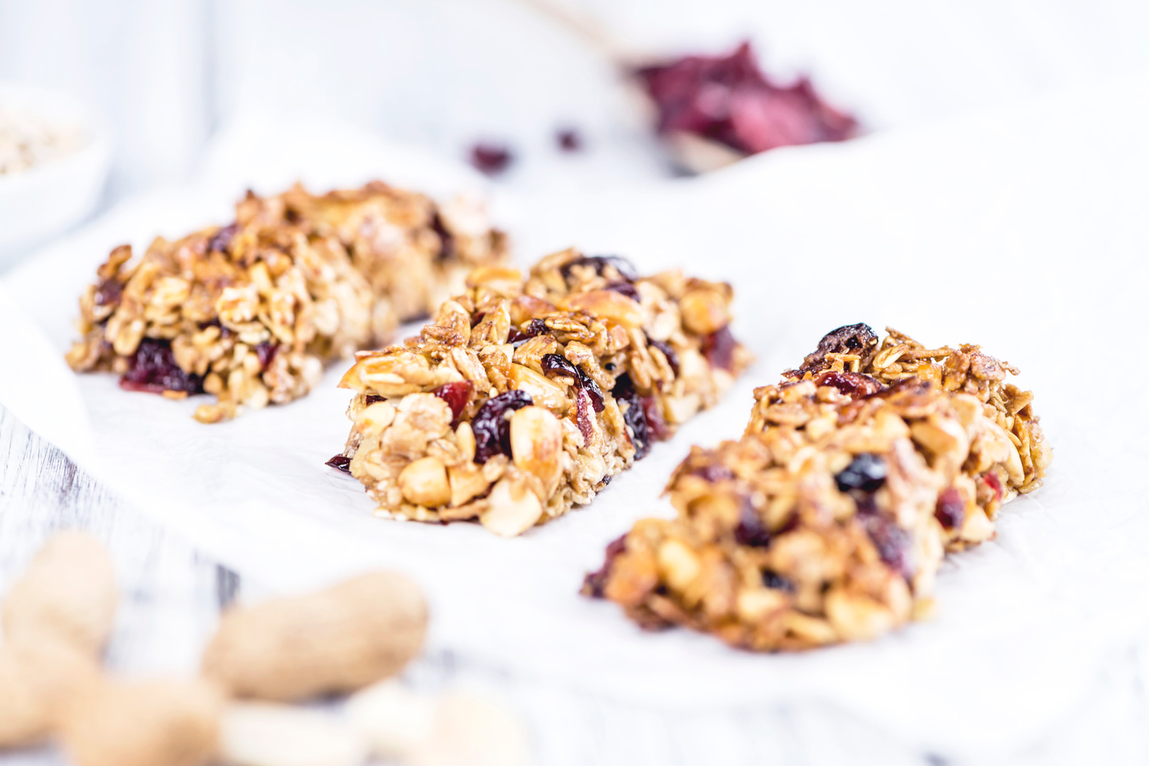 Granola Bars with Flax
