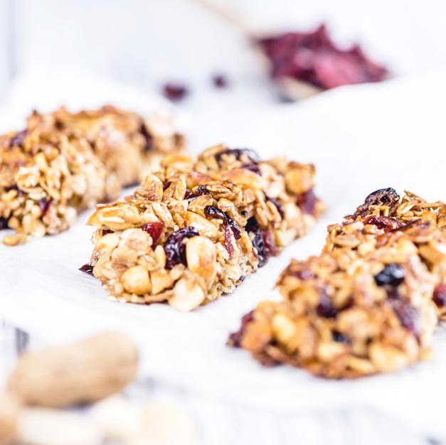 No Bake Granola Bars - Breakfast