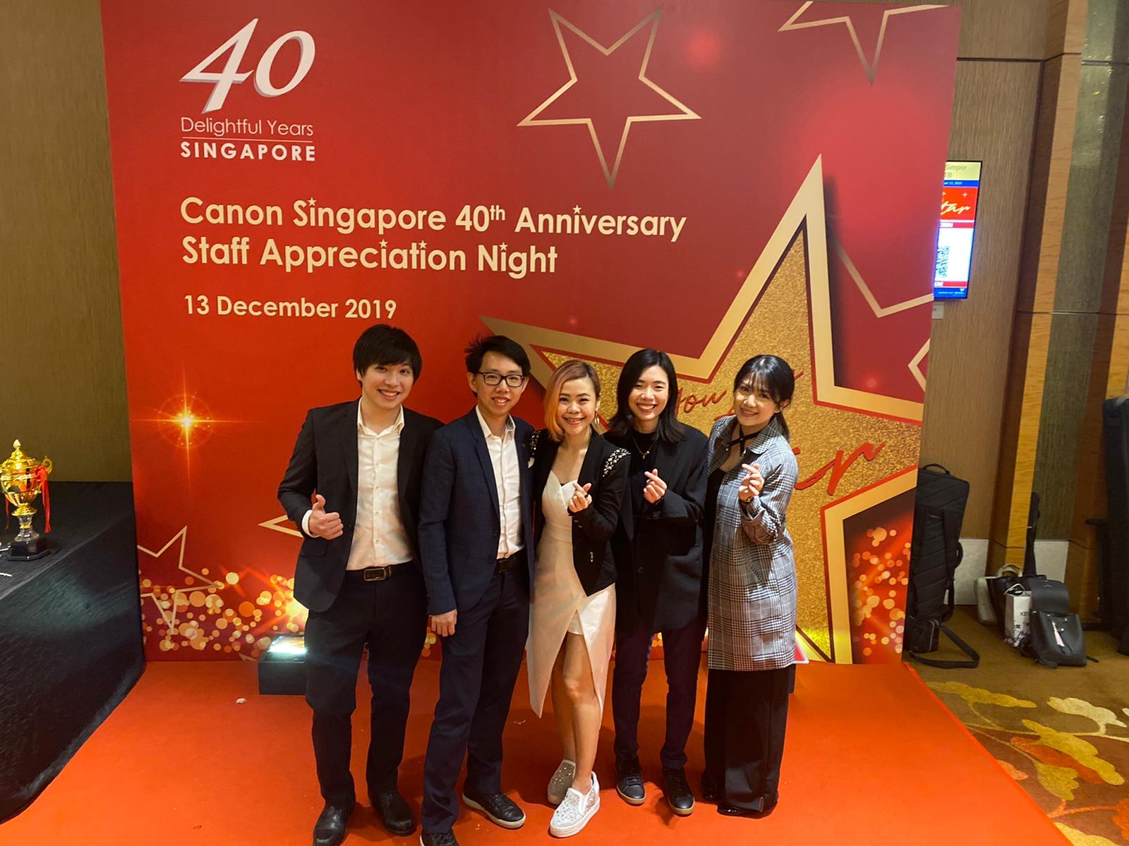 Canon Singapore 40th Anniversary