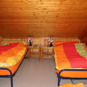 2 Schlafplätze in der Stube Og