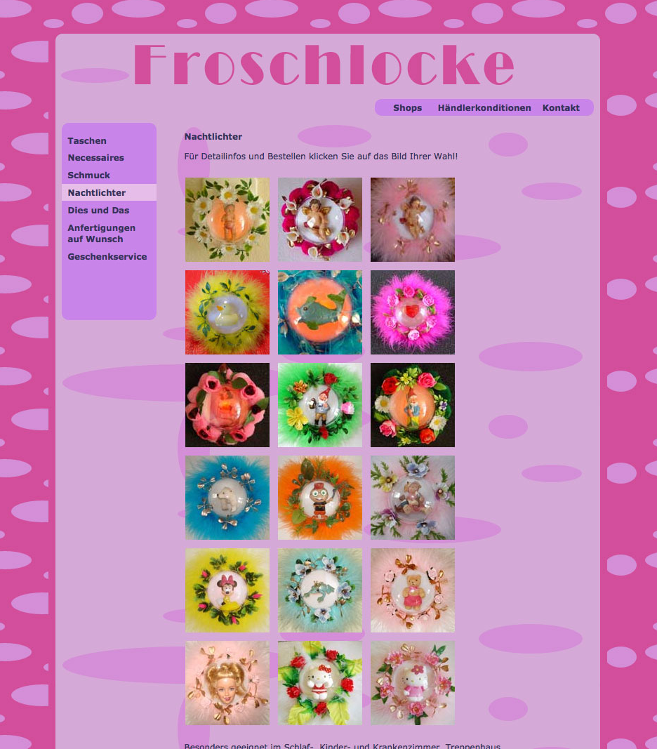 Website Froschlocke