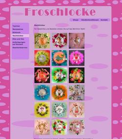 Website Froschlocke
