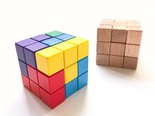 【 比賽版】立體七巧板Tangram3d27