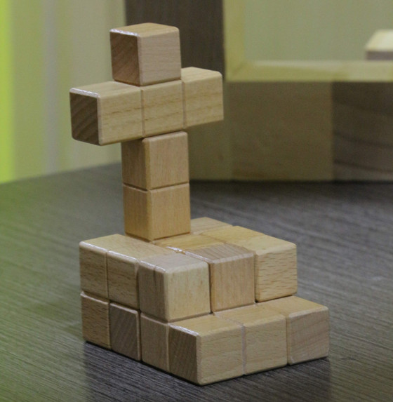立體七巧板看視覺追蹤