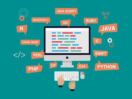 As linguagens de programação tendências de 2018
