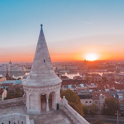 Budapest napfelkelte