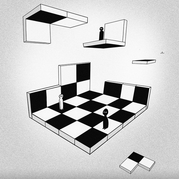 Study for floating chess game