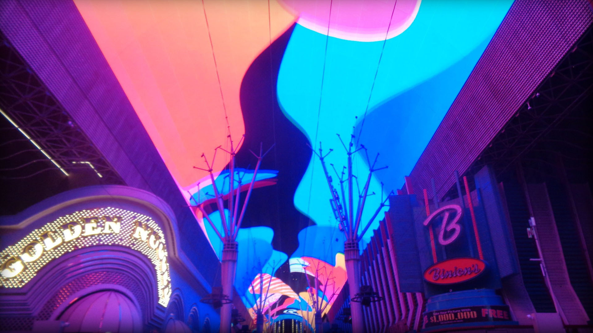 CHAINSMOKERS AT FREMONT STREET EXPERIENCE
