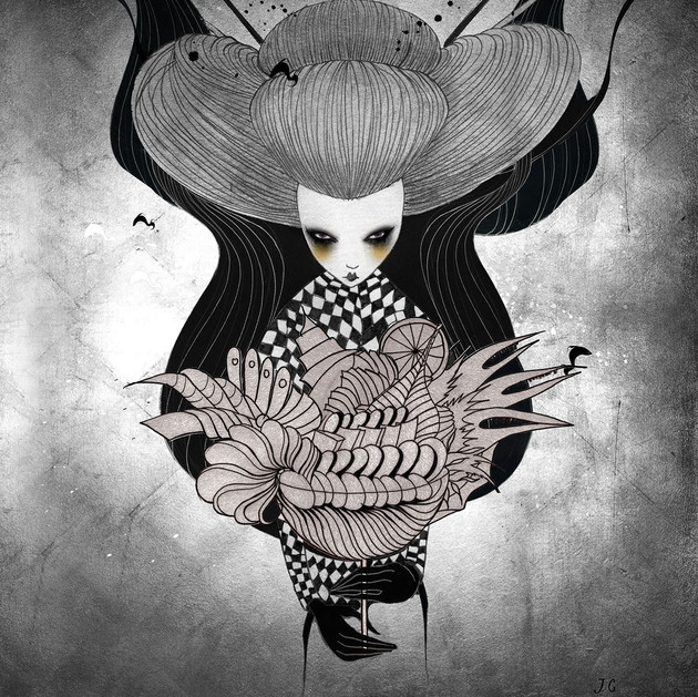Iku Sorceress - poster for Flyjin nights