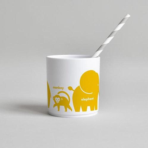 Wild Animal Tumbler - Yellow
