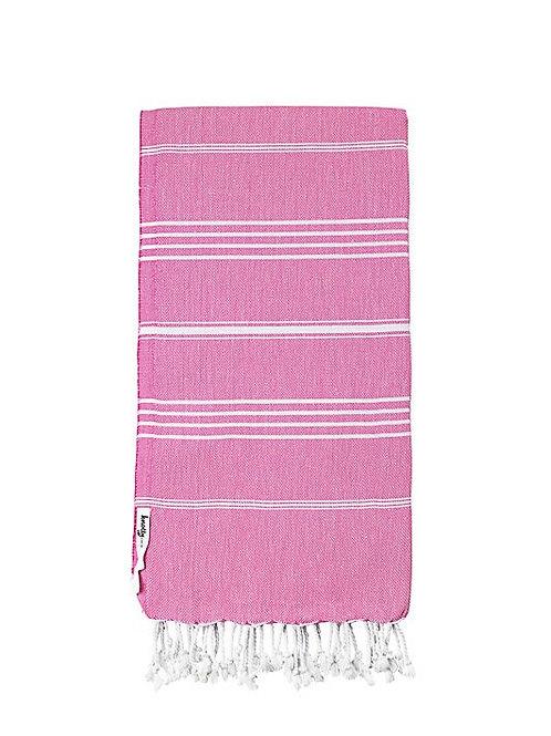 Junior Knotty Turkish Towel - Bubblegum