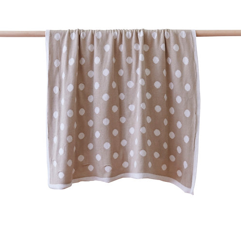 Dottie Natural Blanket