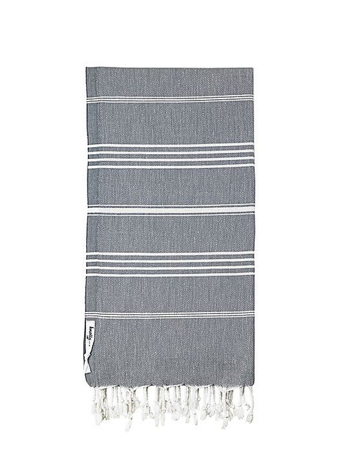 Junior Knotty Turkish Towel - Charcoal