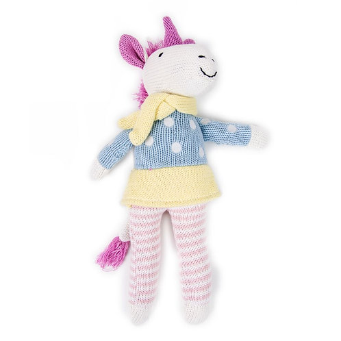 Knit Toy Unicorn