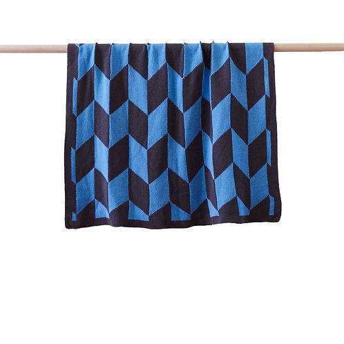 Billie Blanket - Blue