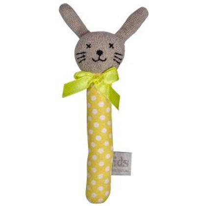 Bunny Rattle -Yellow