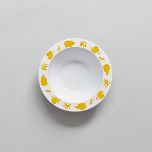 Wild Animal Bowl - Yellow