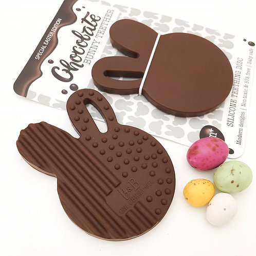 Easter Edition Chocolate Bunny Teether