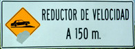 Speed Reducer (Tope) Ahead