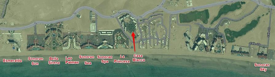 Condo rentals Puerto Penasco