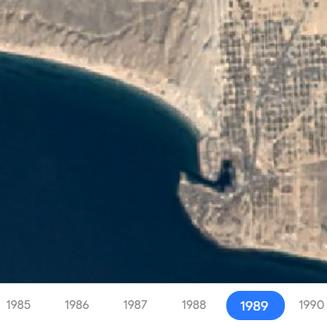 Growth in Puerto Peñasco since 1984