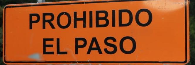 Prohibited to Pass