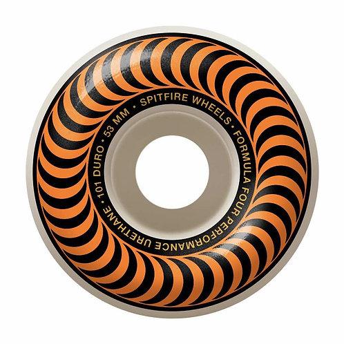 Orange Spitfire formula fours 52mm