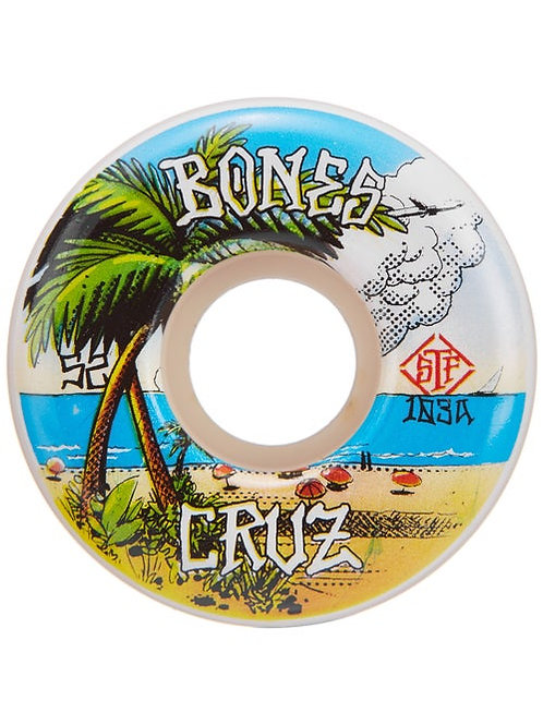 Bones Cruz 52mm