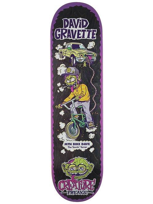 CREATURE GRAVETTE FREAKS DECK 8.0