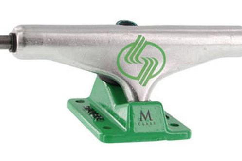 Silver m class green hollow 8.0
