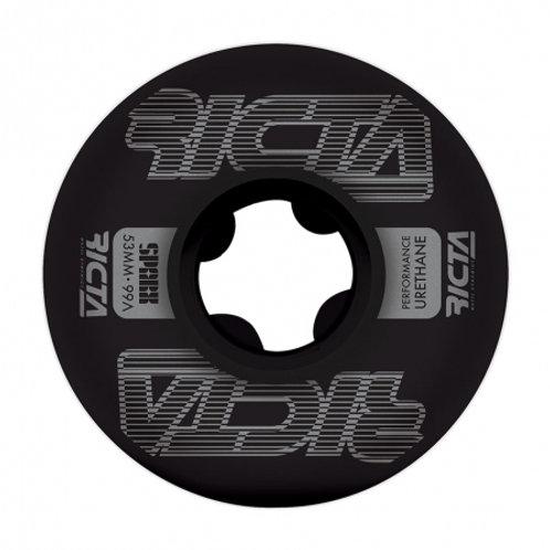 Ricta Framework Sparx Black 53mm 99A Wheels