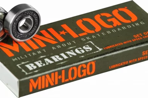 Mini Logo Bearings Set of 8