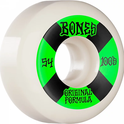 Bones 100a Originl Formula White Wheels