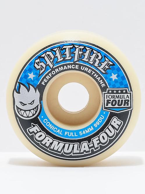 Spitfire Formula 4 Conical Full 54mm Wheels
