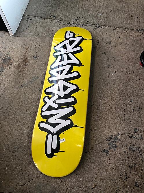 Wisper deck yellow 8.5