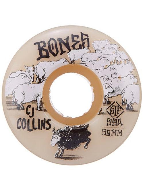 BONES STF COLLINS BLACK SHEEP V3 50MM 99A (Set of 4)