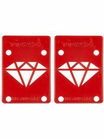 DIAMOND RISE & SHINE RISERS RED 1/8