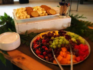 Fruit and Cheese platter - catering